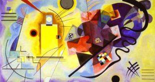 لوحة للفنان كاندنسكي